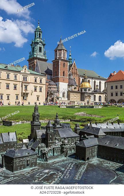 Poland, Krakow City, Wawel Royal Castle (W. H. )