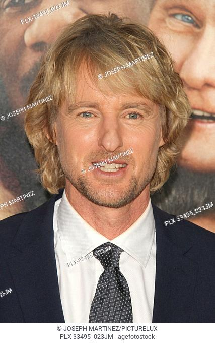 """Owen Wilson at the Premiere of Warner Bros' """"""""Father Figures"""""""" held at the TCL Chinese Theater in Hollywood, CA, December 13, 2017"""