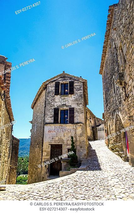 Lacoste Boulangerie, old bakery, Lacoste, Vaucluse, Provence-Alpes-Cote d'Azur, France