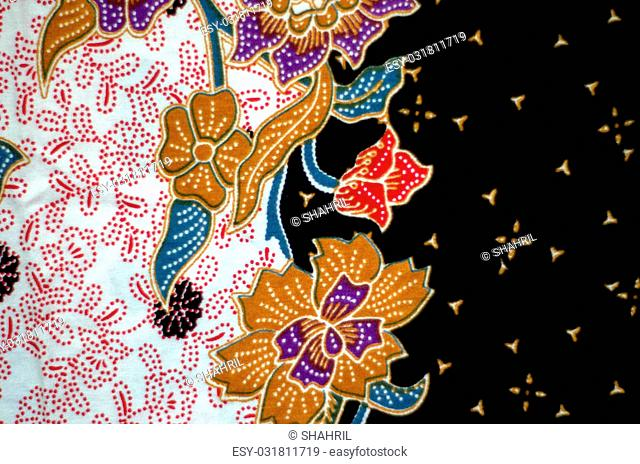 Asian Pattern and Batik Textile available