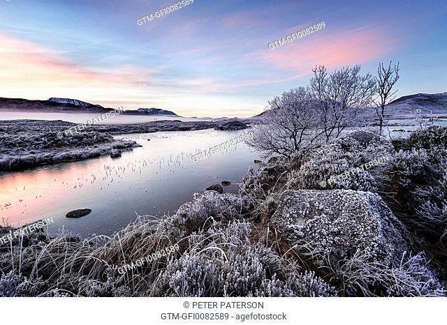 Sunrise Rannoch Moor