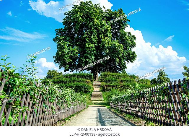 Kromeriz – garden, CZ