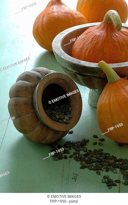 Pumpkins and pumkin seeds