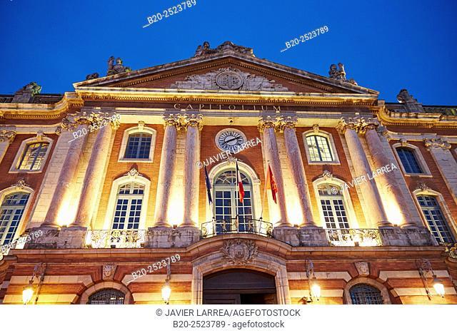 Place du Capitole, Toulouse, Haute Garonne, Midi-Pyrenees, France
