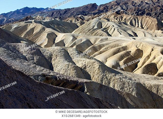 Ridge top trails provide harrowing vistas to see forever in Death Valley