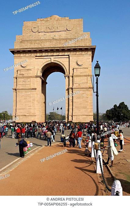 India, Delhi, New Delhi, Gate of India