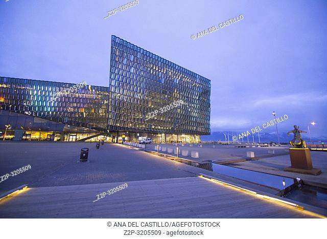Harpa is a concert hall and conference centre in Reykjavík, Iceland. The opening concert was held on May 4, 2011 on March 19, 2018
