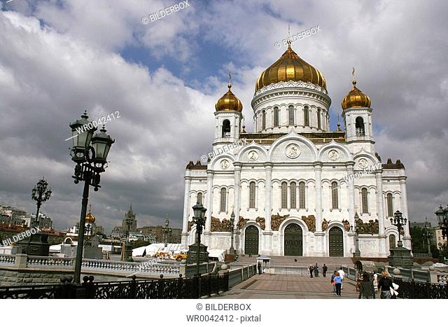 Russia, Moscow, Redeemer Cathedral