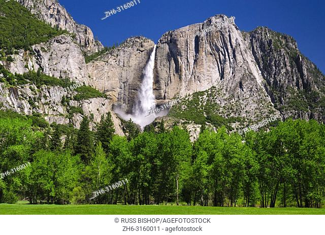Yosemite Falls, Yosemite Valley, Yosemite National Park, California USA