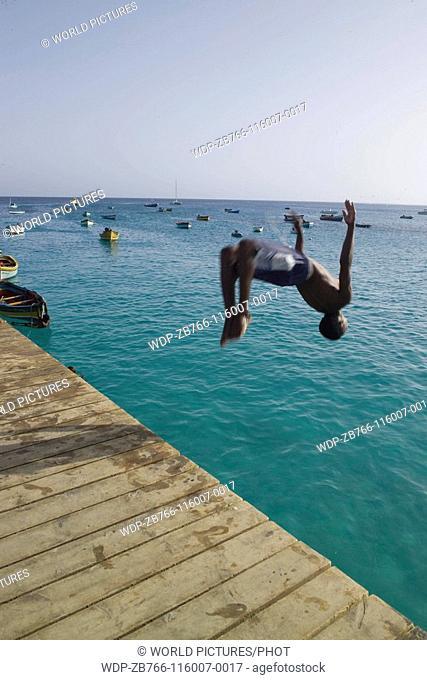 Santa Maria, Island of Sal, Cape Verde Islands Ref: ZB766-116007-0017 COMPULSORY CREDIT: World Pictures/Photoshot