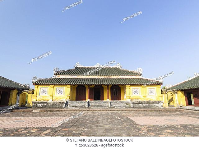 Palace of longevity' or Truong Sanh residence, Imperial City, Hue, Vietnam