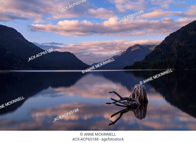 Buttle Lake, Strathcona Provincial Park, Vancouver Island, British Columbia, Canada