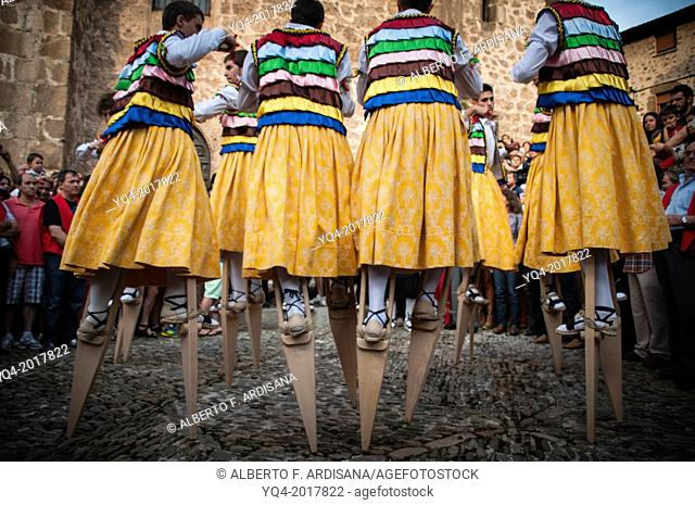 The dance of the stilts. Anguiano. The Rioja.Spain