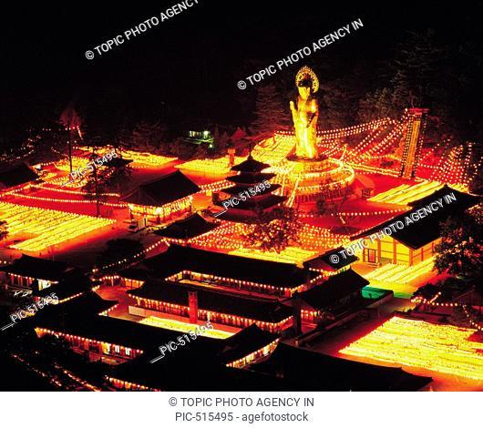 Pubjusa Temple,Mt. Songnisan National Park,Chungbuk,Korea