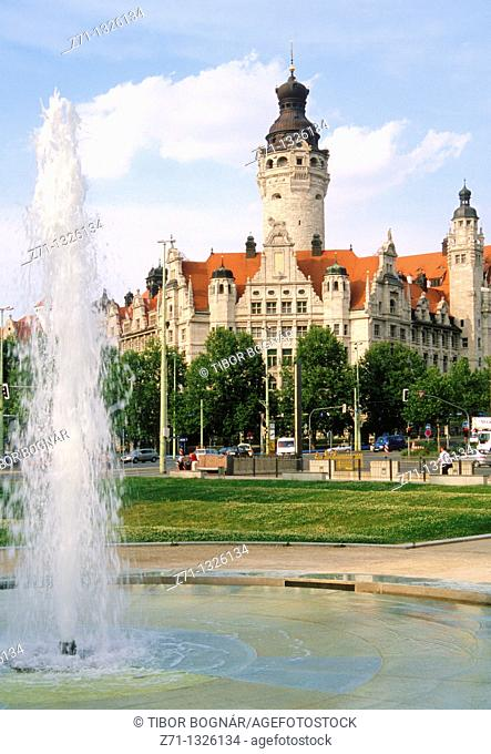 Germany, Saxony, Leipzig, New Town Hall