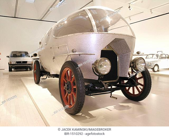 Alfa 40, 60 HP Ricotti, Mitomacchina exhibition, Museum of Modern Art, MART, Rovereto, Italy, Europe