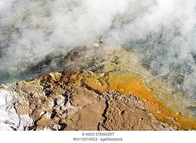 El Tatio Geysers, Altiplano, Atacama Desert, Chile, South America