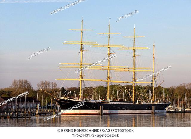sailing ship Passat, Travemünde, Schleswig-Holstein, Germany