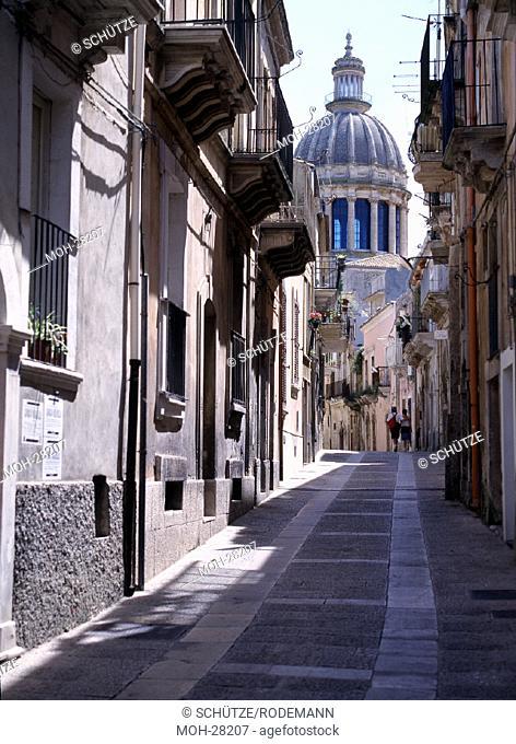 Ragusa Ibla, Blick zur Kirche S. Giorgio