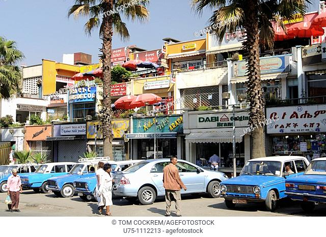 commercial entre, Cunningham Street, piazza, addis ababa ethiopia