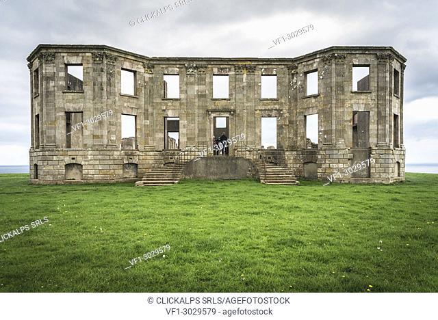 Downhill Castle, Castlerock, County Antrim, Ulster region, northern Ireland, United Kingdom. An old First World War Fortress