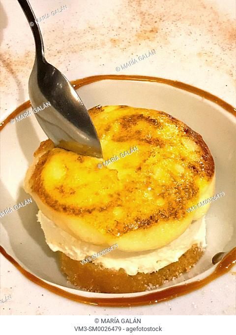 Creamy dessert