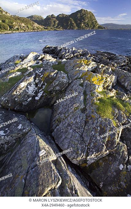 Rocky Shoreline of White Sand Harbor