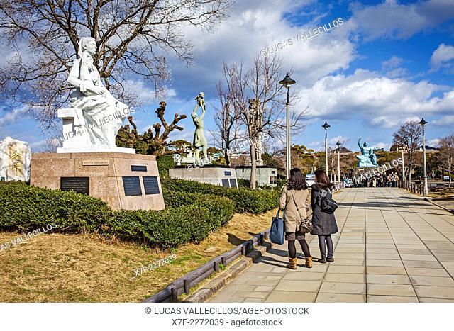 Peace Park, Nagasaki, Japan
