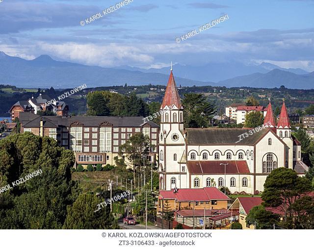 Sagrado Corazon de Jesus Church, Puerto Varas, Llanquihue Province, Los Lagos Region, Chile