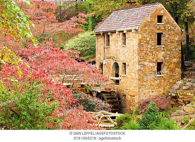 Fall colours, Arkansas, USA