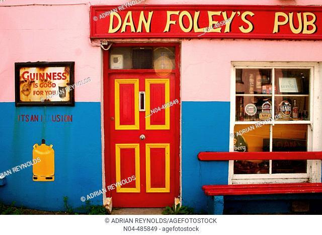 Dan Foley's pub. County Kerry, Ireland