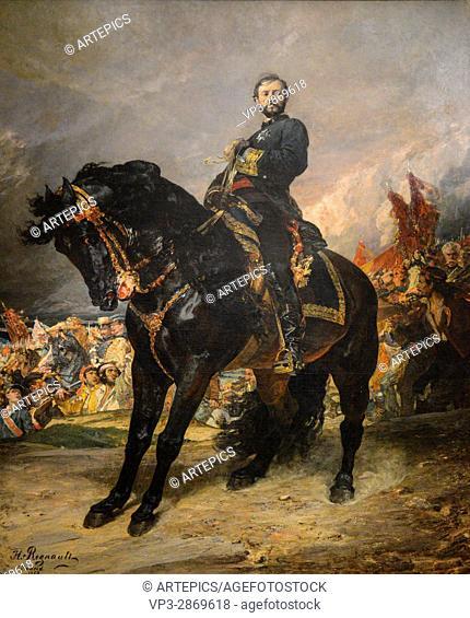 Henri Regnault - Juan Prim - 1869