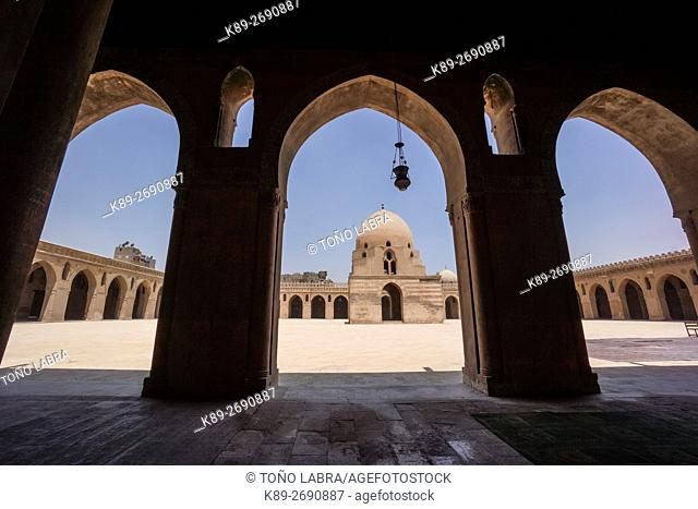 Ibn Tulun Mosque (IX Century), Cairo, Egypt