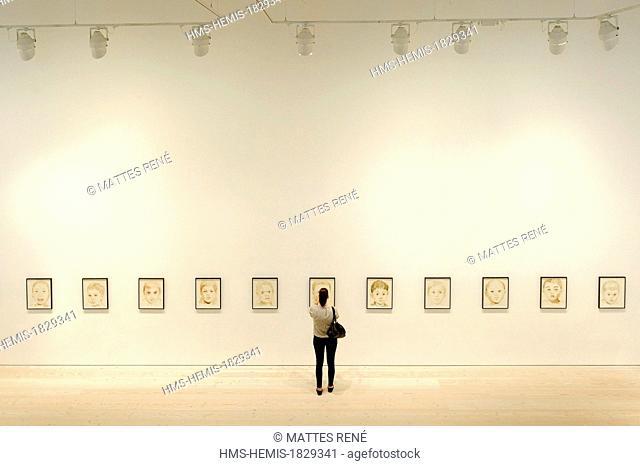 United Kingdom, London, Chelsea district, Saatchi Gallery