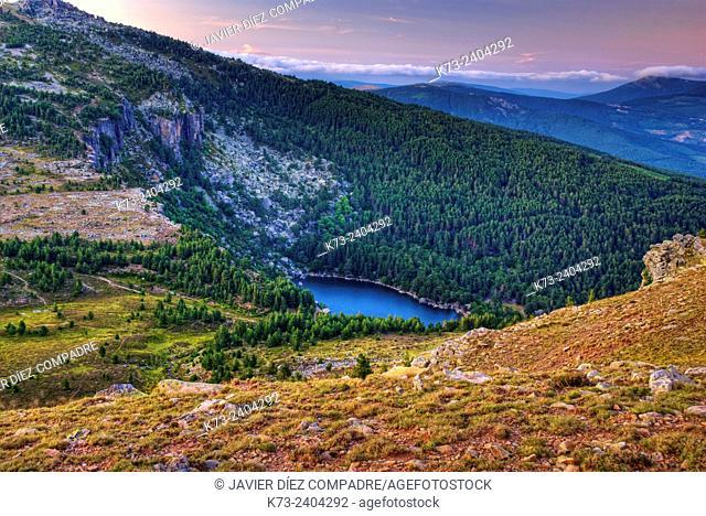 Laguna Negra. Laguna Negra y Circos Glaciares de Urbion Natural Park. Covaleda. Soria Province. Castilla y Leon. Spain