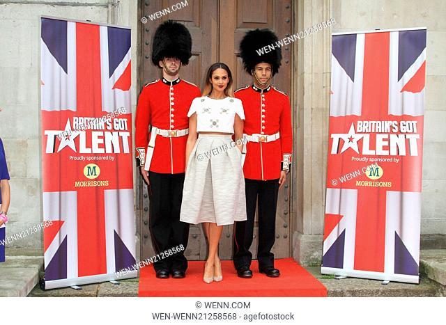 Britain's Got Talent Press Launch at St Luke's Church, Old Street, London Featuring: Alesha Dixon Where: London, United Kingdom When: 09 Apr 2014 Credit: WENN