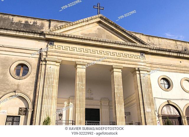 Church Ecce Homo at the Pantheon, Noto, Siracusa, Sicily, Italy