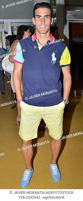 Alejandro Alfaro, player soccer team Real Club Deportivo Mallorca, Palma de Mallorca, Balearic Islands, Spain