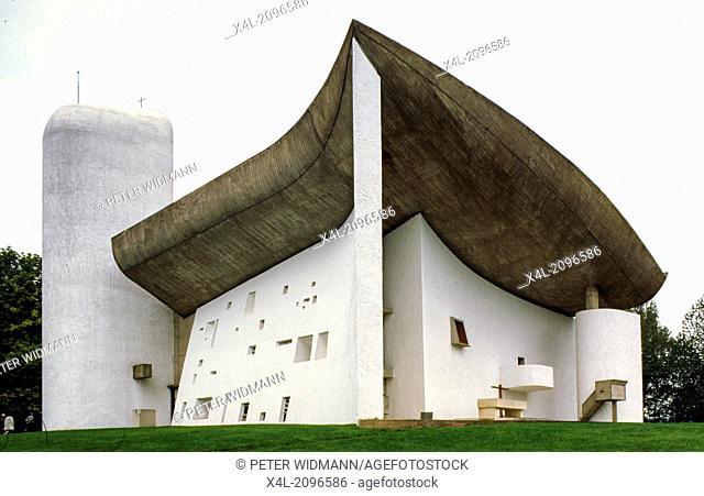 Notre Dame du Haut, Le Corbusier, France, Ronchamp