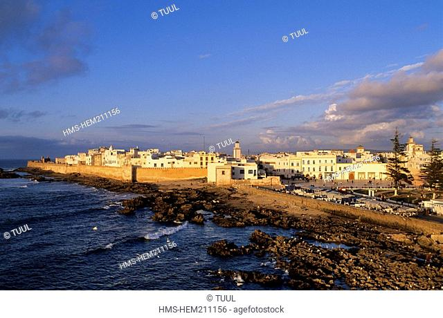 Morocco, Essaouira, general view of the medina, listed as World Heritage by UNESCO