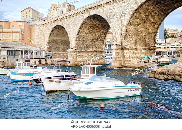 A Vallon Des Auffes Beach Is A Little Traditional Fishing Haven In Marseille