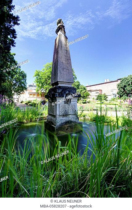 Jardin Dominique Alexandre Godron, monument, botanical garden, Nancy, Département Meurthe-et-Moselle, France