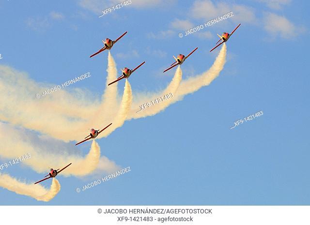 Patrulla Águila. Spanish Air Force Aerobatic Team