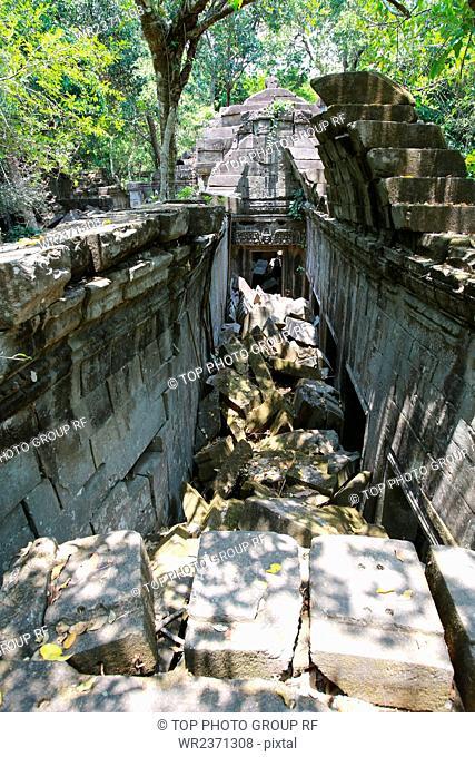 Southeast Asia Cambodia Beng Mealea