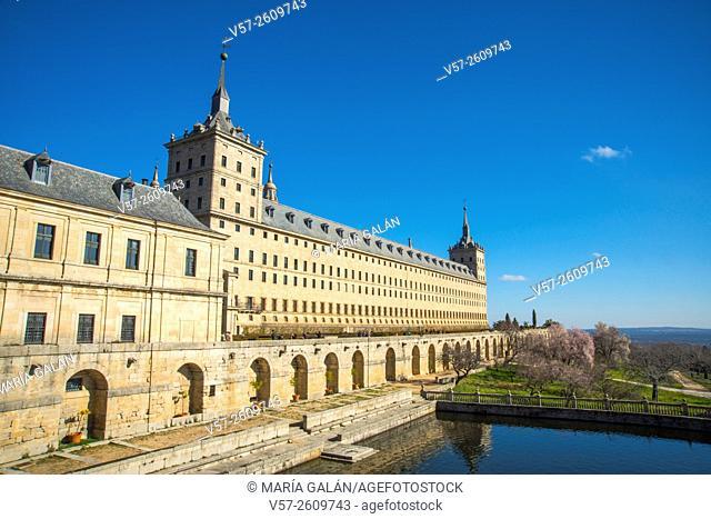 Royal Monastery. San Lorenzo del Escorial, Madrid province, Spain
