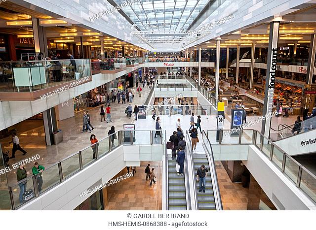 United Kingdown, London, Stratford District, Westfield Stratford shopping center