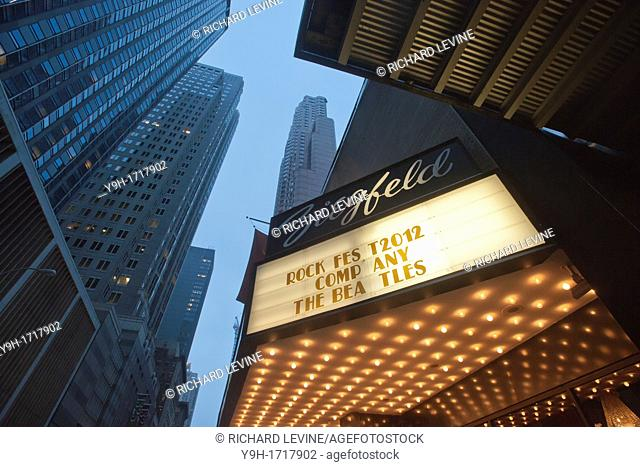 Clearview Cinemas' iconic Ziegfeld Theater in midtown in New York Cablevision, the owner of the 230 screen theater chain, is planning to sell Clearview