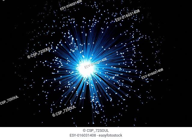 Fibre optic burst