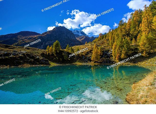 Lac Bleu, Valais, Switzerland