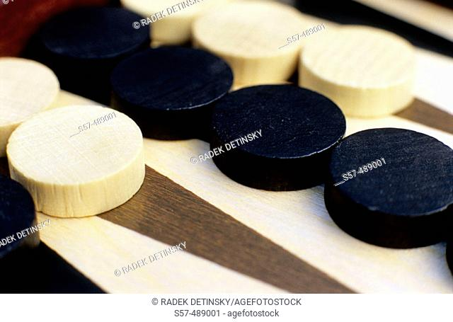 Table game, backgammon